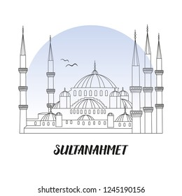 The Blue Mosque Istanbul Images Stock Photos Vectors Shutterstock