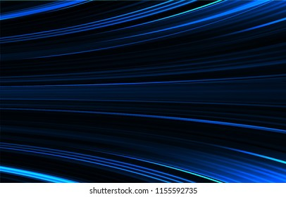 blue motion abstract background vector