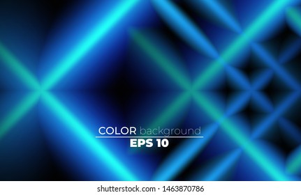 Blue Ocean Abstract Lines glowing shape Background. Suitable For Wallpaper, Banner, Background, Card, Book Illustration, landing page