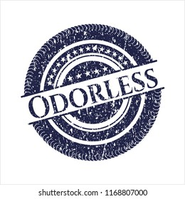 Blue Odorless distress rubber texture