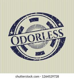 Blue Odorless grunge seal