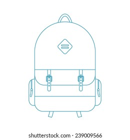 Backpack Drawing Images Stock Photos Vectors Shutterstock