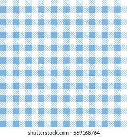 Blue patterns tablecloths stylish a illustration design. Geometrical traditional ornament for fashion textile, cloth, backgrounds. Vector illustration