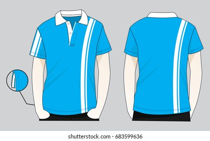 A Line Shirt Design | Polo Shirt Design Stock Vektorgrafik Lizenzfrei 654296062