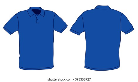 Blue Polo Shirt Images Stock Photos Vectors Shutterstock