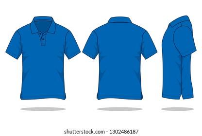 Royalty Free Dark Blue Polo Shirt Stock Images Photos