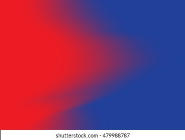 Blue and red gradient abstract background