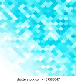 Blue Roof tiles pattern, Creative Design Templates