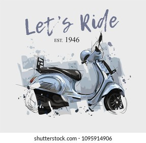 Scooter Images Stock Photos Amp Vectors Shutterstock