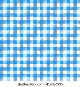 blue seamless gingham pattern