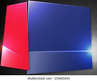 Blue Sharp Vector Background