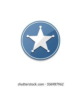 Sheriff Badge Images, Stock Photos & Vectors   Shutterstock