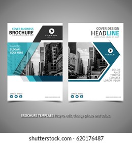 Blue Simple Brochure
