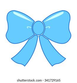 blue sky bow