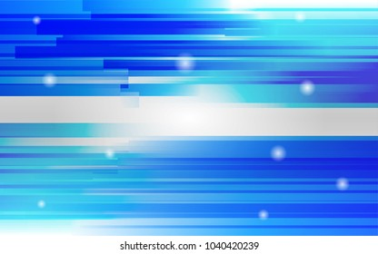 Blue straight lines abstract background, vector illustration