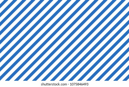 Blue stripes on white background. Striped diagonal. Vector illustration  Background with slanted lines