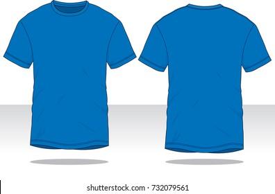 navy blue t shirt template のベクター画像素材 ロイヤリティフリー