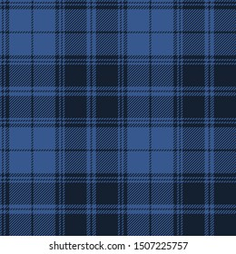Blue tartan plaid Scottish seamless pattern.Texture from plaid, tablecloths, clothes, shirts, dresses, paper, bedding, blankets and other textile products.