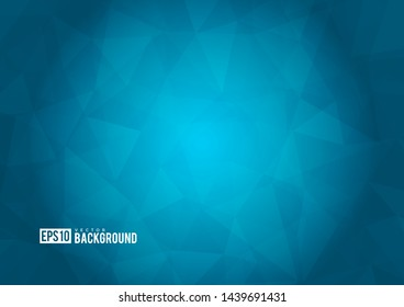 Blue texture background with geometric ice pattern