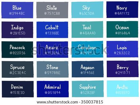 blue tone color shade background code のベクター画像素材
