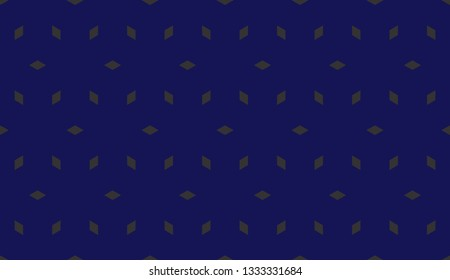 Blue tones. Geometric design seamless pattern. Vector illustration
