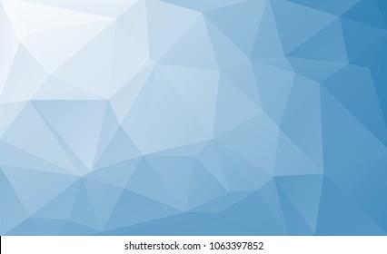Blue Traingle Background