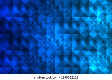 blue triangle and quadrilateral vertical background
