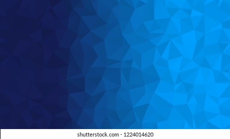 Blue triangular low poly, Mosaic pattern Background, Vector illustration graphic, Creative, Origami style with gradient