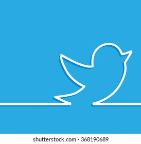 Twitter background images stock photos vectors shutterstock blue tweet bird vector logo jpg jpeg epsitter icon button voltagebd Image collections