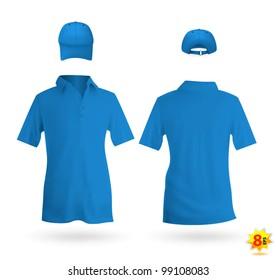 Blue Polo Shirt Photos 13 610 Blue Polo Stock Image