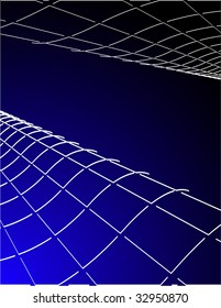 the blue vector abstract background