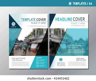 Blue vector annual report 