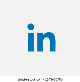 blue vector background linkedin