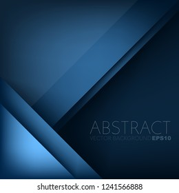 Blue vector geometric background