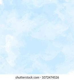 Blue, violet watercolor background vector