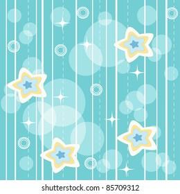 Blue vivid pattern. Vector illustration.
