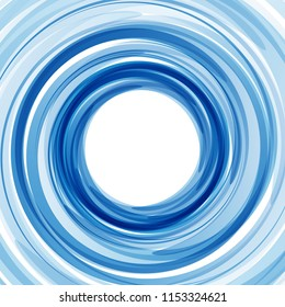Blue Vortex background with copy space