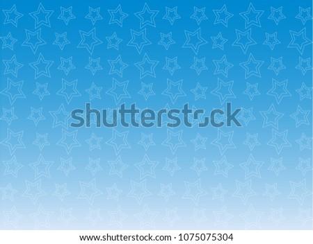 Blue Wallpaper Pattern Fading Stars Stock Vector Royalty Free