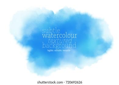 blue watercolor splotch