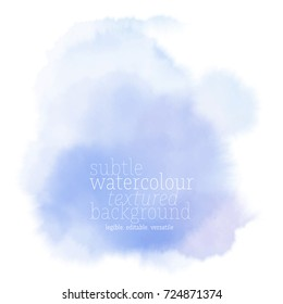 blue watercolor splotches