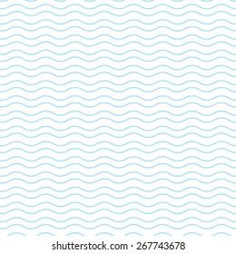 Blue wave pattern