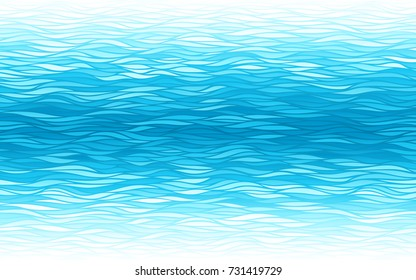 Blue waves background. Eps8. RGB Global colors