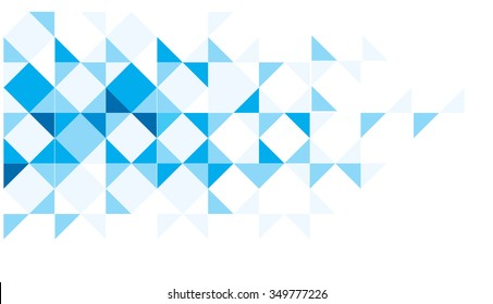 Blue and white abstract pattern for background and banner websites.