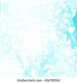 Blue  White Geometric Break Background, Creative Design Templates