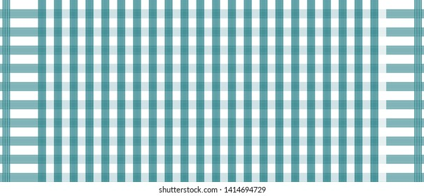 Blue and white loincloth vector and illustration.checkers table. Abstract background.  Local fashion of thailand.
