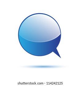 Blue word speech