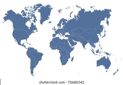 Imgenes similares fotos y vectores de stock sobre world map blue world map gumiabroncs Choice Image