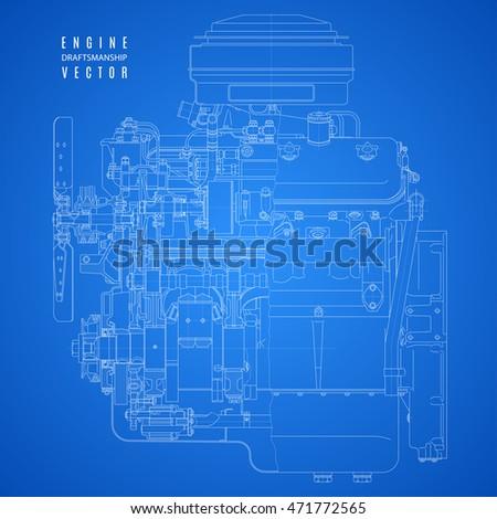 blueprint engine diagram trusted wiring diagrams u2022 rh sivamuni com