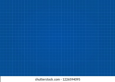 Blueprint graphic lined paper. Vector illustration