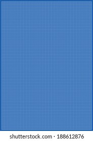 Blueprint graphing paper grid background line stock vector 318769805 blueprint millimeter paper a3 reel size sheet white background malvernweather Image collections